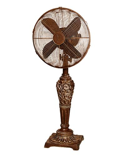 Ornamental Desk Fan