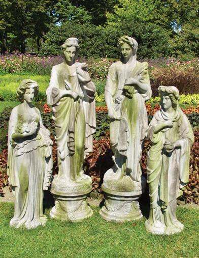 Classical Garden Figures (Set Of 4)
