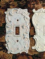 Ornate Single Switch Plate