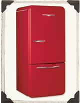 Retro Red Refrigerator