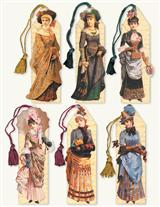 Women Of The 1890S Bookmark Assortment