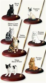 Favorite Cat Breed Pen Stand