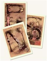 French Alphabet Postcards N-z