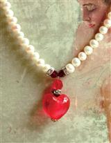 Heart Of Glass Necklace Zziz