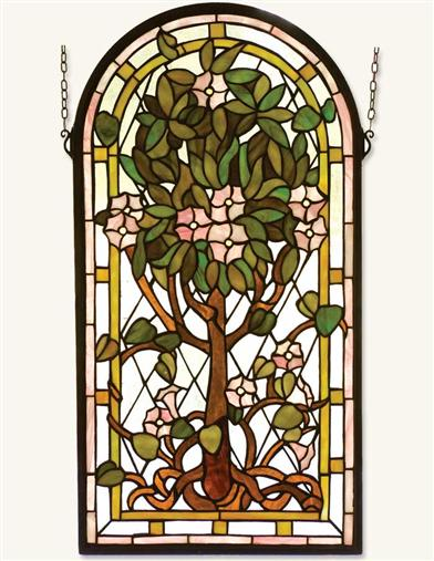 Hawthorne Leaded Glass Panel