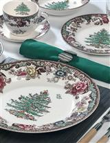 Spode On The Trent (5 Pc Place Setting)