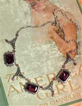 Faux Amethyst Necklace