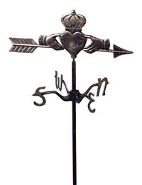Celtic Claddagh Weathervane