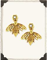 Victorian Bumblebee Earrings