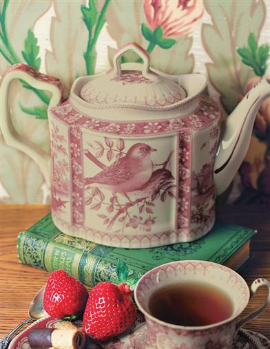 Pretty Bird Afternoon Tea Teapot