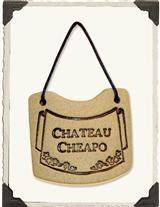 Chateau Cheapo (Wine Necklace)