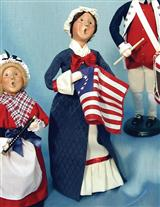 Byers' Choice Patriotic Woman
