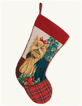 Dog Breed Christmas Stocking