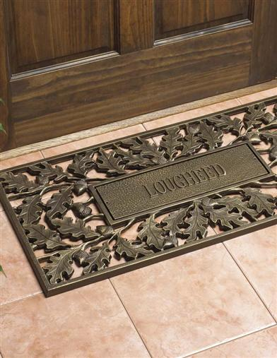 Oak Leaf Surname Doormat