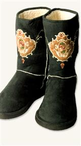 Victorian Snuggly Boots