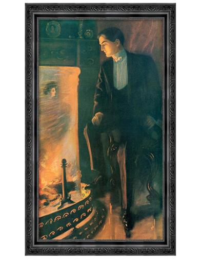 Firelight Fancies Framed Print (He)