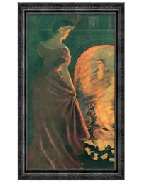 Firelight Fancies Framed Print (She)