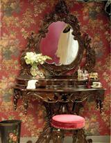 Chateau Bordeaux Vanity & Stool
