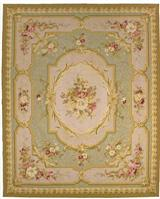 NOSEGAY AUBUSSON RUG 8 x 10'