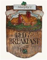 Irish Bed & Breakfast Sign