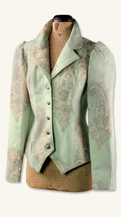 Mint Paisley Jacket