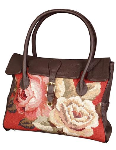 Needlepoint Carpetbag