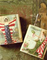 Old Glory Hurdy Gurdies (Pair)