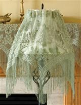 Belleclaire Lace Lampshade Topper