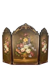 Scarborough Hand Painted Fireplace Screen