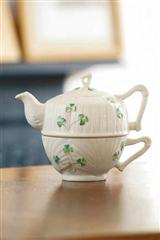 Belleek Reed And Barton Tea For One
