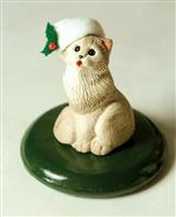 Byers' Choice Caroling Cat