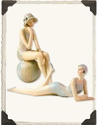 Bathing Beauties Figurines