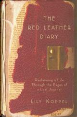 The Red Leather Diary Book