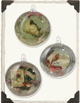 December Diorama Ornaments (Set Of 6)
