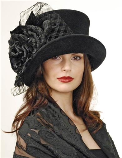 Louise Green Madame Hatter Top Hat