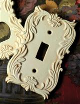 English Tudor Estate Single Light Switch