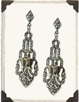 New York Art Deco Earrings