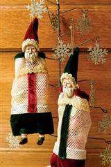 Kris Kringle Candy Bags (Pair)