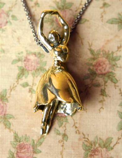 Tiny Dancer Bell 14Kt Gold