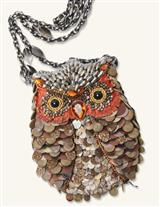 Mary Frances What A Hoot Purse