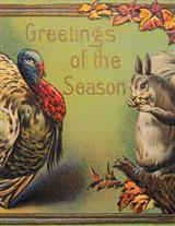 Greetings Of The Season Wall Art