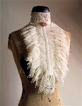 Venetian Lace Collar (Ivory)