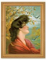Autumnal Breeze Framed Print