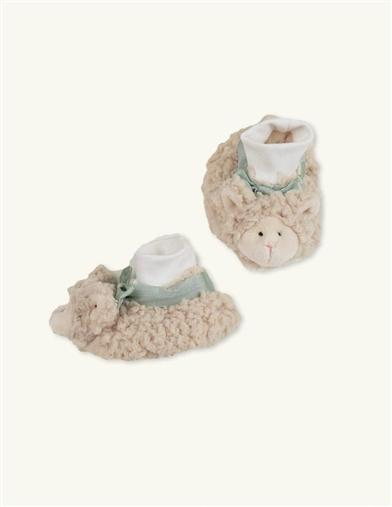 Bearington Baby Collection Booties (Lambie Pie)