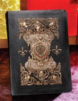 Keepsake Bible With Brass Heart Locket Book