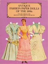 Antique Fashion Paper Dolls Of The 1890S