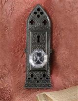 Gothic Musical Door Knob Plaque