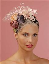 Louise Green April Flowers Fascinator