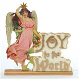 Joy To The World Angel Tablepiece