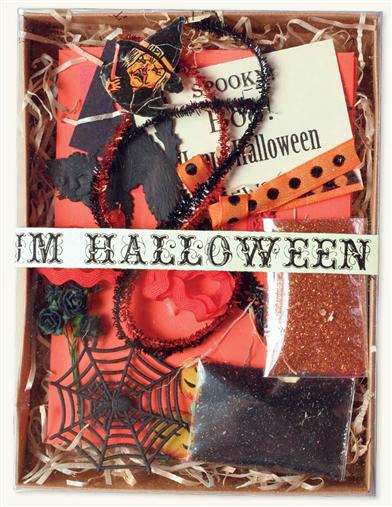 Authentic Vintage Scrap (Halloween Mix)